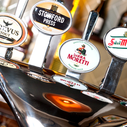 Commercial Photographer Dorset - Pub Photography - Interior Photography - Modern Bar Pumps